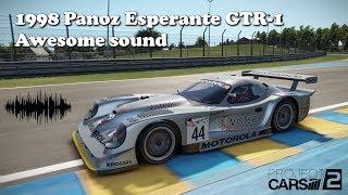 1998 Panoz Esperante GTR-1 awesome sound