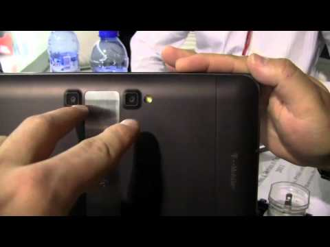 LG G-Slate 3D Tablet Hands-On