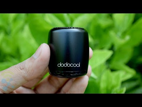 dodocool Mini Portable Bluetooth Speakers Unboxing and Test - Review