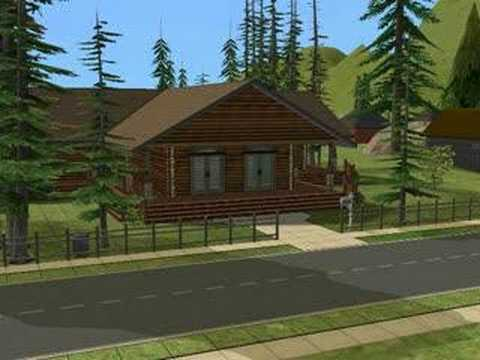 The Sims 2 Building Hotel Time Lapse