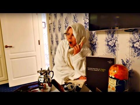 Бабушка в отеле. Смешные видео для детей.