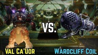 Destiny 2- Wardcliff Coil vs Val Ca'uor  One Phase Spire of Stars Raid Lair