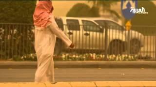 موجة الغبار تنجلي عن الرياض بعد زيارة قصيرة
