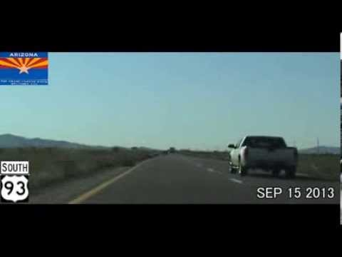 Las Vegas NV to Albuquerque NM Time Lapse Drive