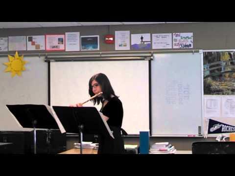 2014-01-25 Marisa MSBOA District flute solo