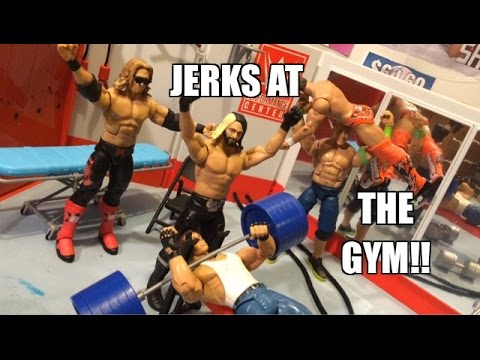 GTS WRESTLING: Flame Wars! Real Fire WWE Figure Matches Animation! MATTEL Elites!