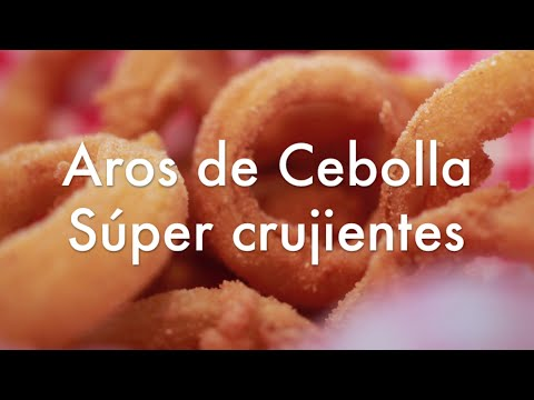 Aros de Cebolla Caseros Crujientes - Receta con tempura y rebozado