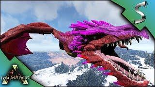 FULLY MUTATED ICE WYVERN! ICE WYVERN BREEDING AND BABIES! - Ark: RAGNAROK [DLC Gameplay E63]