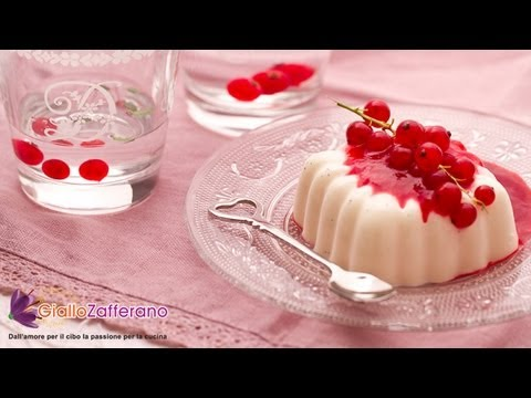 Panna cotta - original Italian Recipe