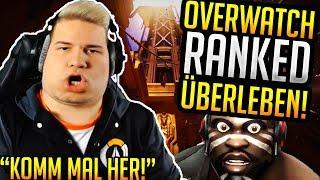 Overwatch Ranked in Season 16 Überleben! | Noserino Stream Highlights #24