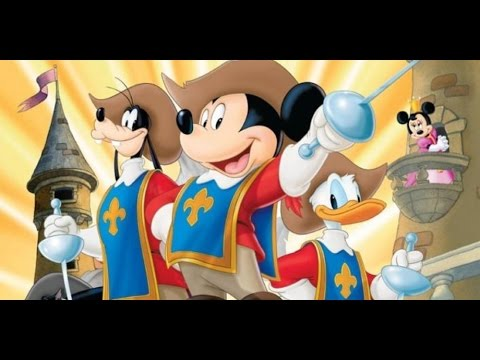 Три мушкетера - Микки, Дональд, Гуфи