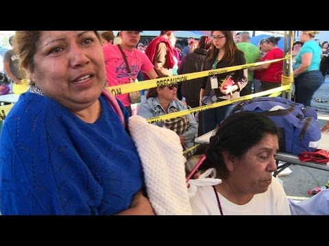 Relatives sob after 49 killed in Mexico prison battle