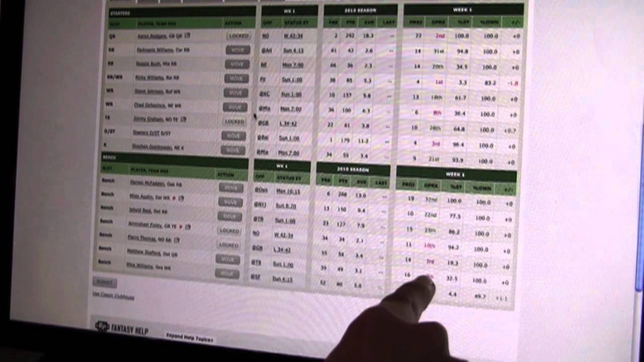 Football Plays Beginners How to Play Fantasy Football