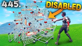 REASON WHY CART IS DISABLED..!! Fortnite Daily Best Moments Ep.445 Fortnite Battle Royale Funny
