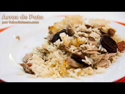 Receita de Arroz de Pato - YouTube