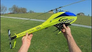 My Second SAB Goblin 380 (yellow) Is Finished!! - Flight #3