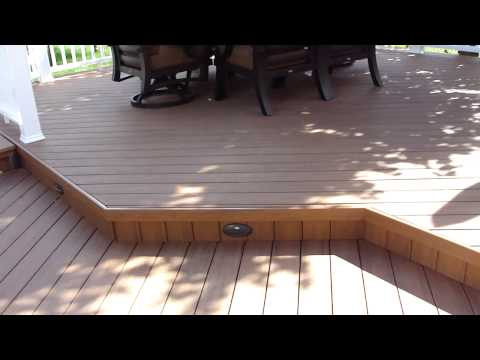 How To Cover Grooves On Timbertech Decking Sides