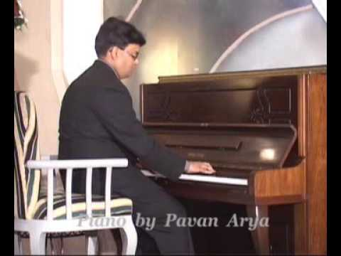 Ye Mera Diwanapan Hai--tune On Piano By Pavan Arya-- Www.pavanarya video