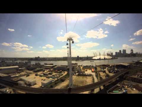 #MyEmiratesView - Emirates Cable Car London O2 Arena