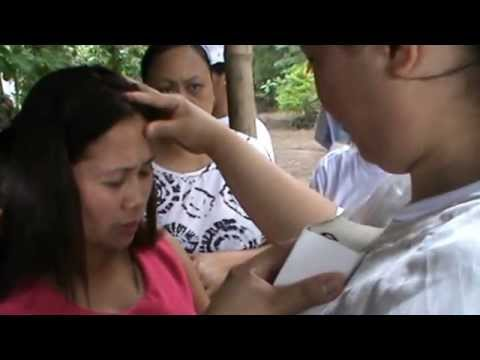 Jesus Christ is the healer foundation mission events in Negros Oriental , Philippines...