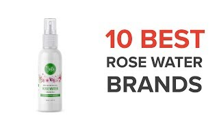 10 Best Rose Water Brands In India with Price