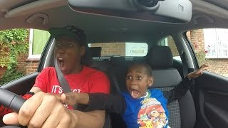 CAR CRASH PRANK ON 8 YEAR OLD BROTHER (HE FREAKED OUT) [PRANK WARS]
