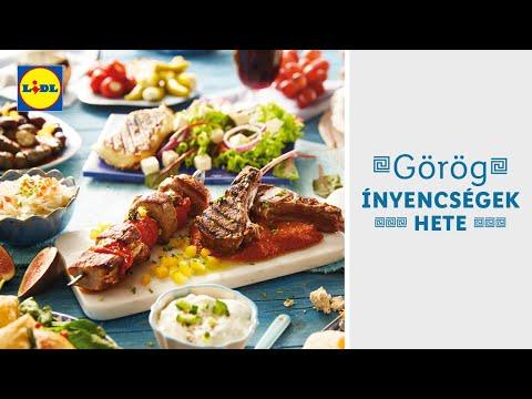 Görög ínyencségek hete 02.17-től | Lidl