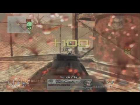 Mw2,Unbeliveable, 13 Kills RPD Kill-Feed!