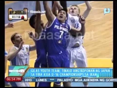 Sports Ngayon: Gilas Youth Team, tinalo ang koponan ng Japan sa FIBA Asia U-16 Championships