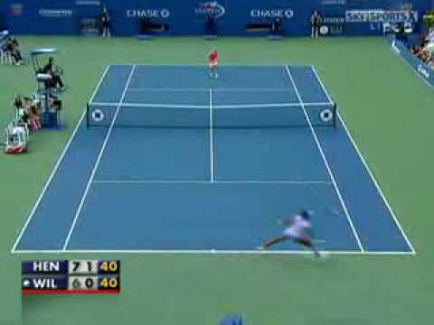 justine henin vs venus williams SF Us Open 2007...best match ever