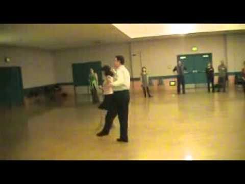 Balboa Park Ballroom Dancers advanced dance lesson, salsa March 2012