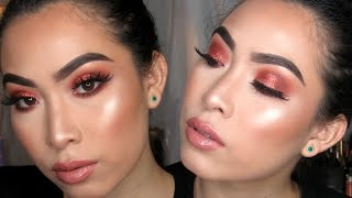Copper Sparkle Makeup Tutorial | HIGHLY REQUESTED