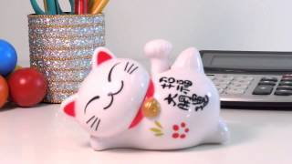 Solar Power Motion Lucky Cat