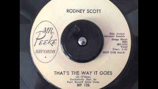 Rodney Scott - That's The Way It Goes - Mr Peeke