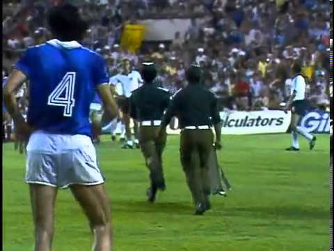 Harald Schumacher vs. Patrick Battiston (1982 World Cup semi finals)