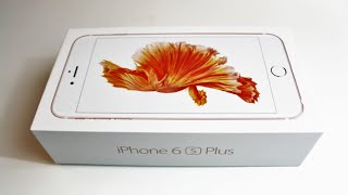 Apple iPhone 6S Plus Unboxing (Rose Gold)