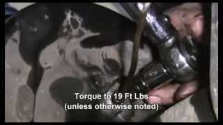 How to Replace the Rear Drums and Brake Shoes on a 1997 Ford F150