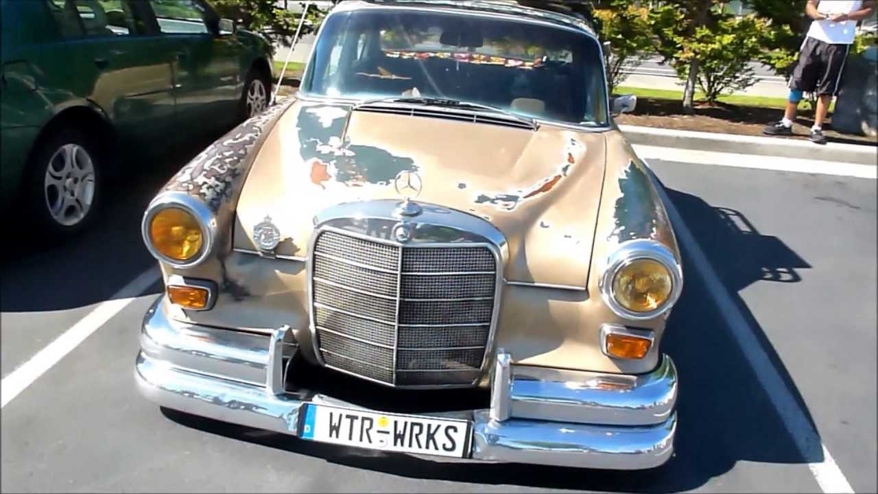 Slammed 1967 MB 200 Diesel