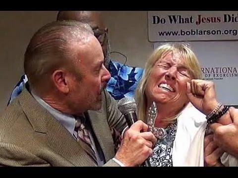 Exorcist Bob Larson confronts Nazi concentration camp demons!