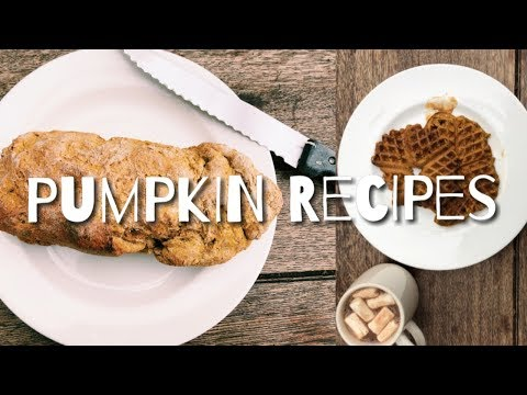 Vegan Pumpkin Recipes || Five Warming and Original Autumn Dishes