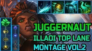 Grasp of the undying Illaoi Top lol Season 9 montage Vol.2