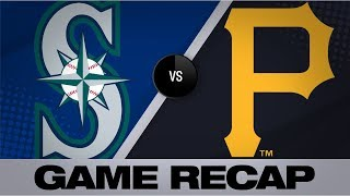 Long's 3 hits lifts the Mariners in extras | Mariners-Pirates Game Highlights 9/19/19