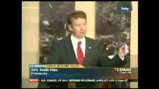 video Rand Paul tells it like it is, no short cuts or beating around the bush, just the FACTS. WTF! Come on People, dont just let this happen. Call, Write, Petition or Protest your local, state...