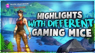 Fortnite Highlights With a Variety of Gaming Mice