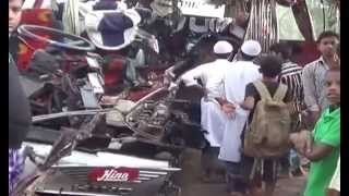 Download ফরিদপুরের ভাঙ্গায় সড়ক দূর্ঘটনা 3Gp Mp4