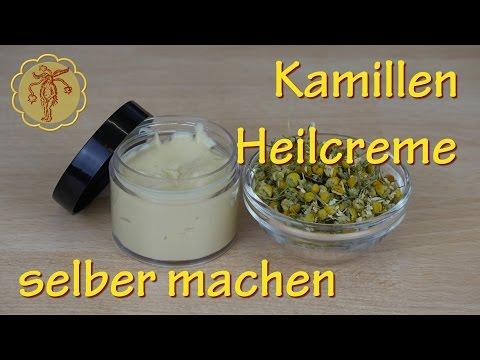 Kamillen-Heilcreme selber machen