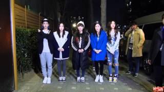 [15.03.27] 크레용팝(Crayon Pop) 뮤직뱅크 악수회 fan cam by Babaway