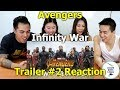 Download Marvel Studios' Avengers: Infinity War - Official Trailer 2   Reaction - Aussie Asians in Mp3, Mp4 and 3GP