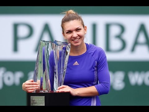 2015 BNP Paribas Open Final WTA Highlights | Simona Halep vs Jelena Jankovic