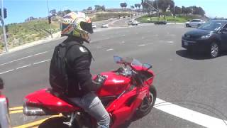 Ducati 1098 and StreetFighter 1098 onboard Dry Clutch Madness